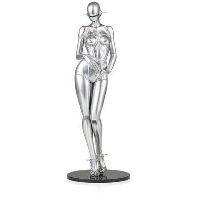Hajime Sorayama, 'Sexy Robot Standing Model A Sculpture', 2015