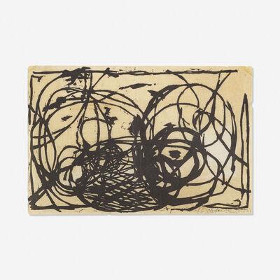 """Roy Lichtenstein, 'Untitled (Illustration for """"Polemic"""" Magazine III.1)', 1957"""
