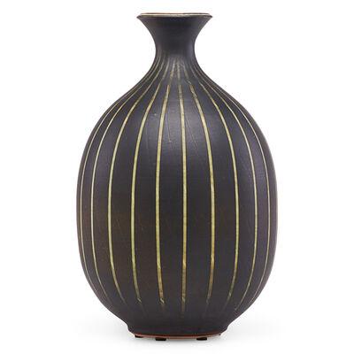 Harrison McIntosh, 'Vase with stripes, Claremont, CA', 1991