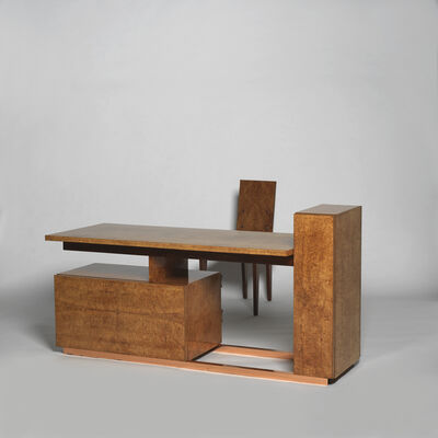 André Sornay, 'Desk with its chair ', ca. 1934