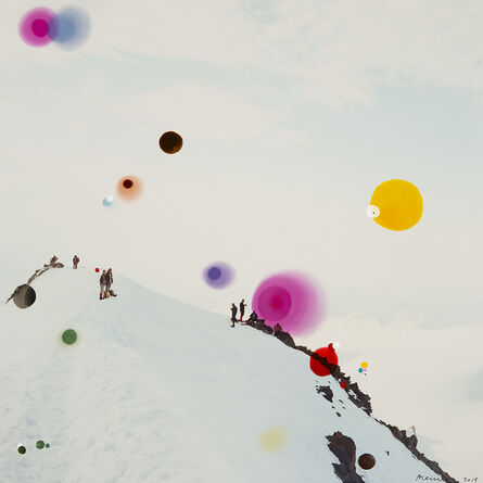 "Sebastiaan Bremer, 'Schoener Goetterfunken XIXC, ""Where the unknown reigns,"" (wo der unbekannte fronet)', 2010"