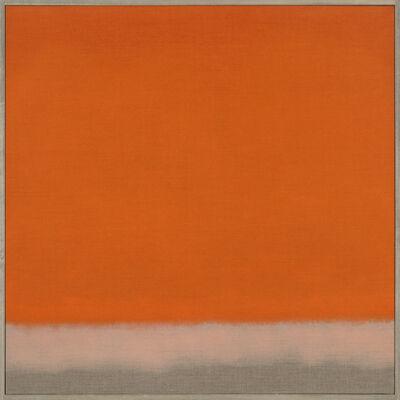 Susan Vecsey, 'Untitled (Red Orange)', 2014