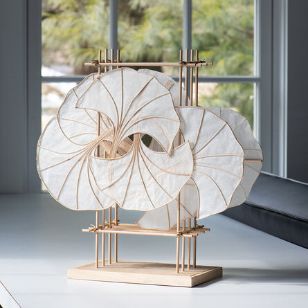Pat Campbell, 'Gingko (pedestal)', 2019
