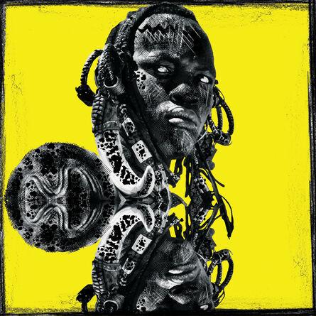 Ralph Ziman, 'Kirinomeri (Yellow)', 2020