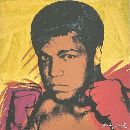 Andy Warhol, 'Muhammad Ali (Yellow)', 1986