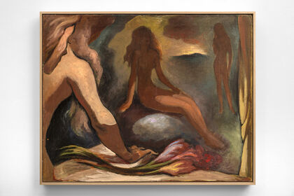 Lorser Feitelson, Allegorical Confessions 1943-1945