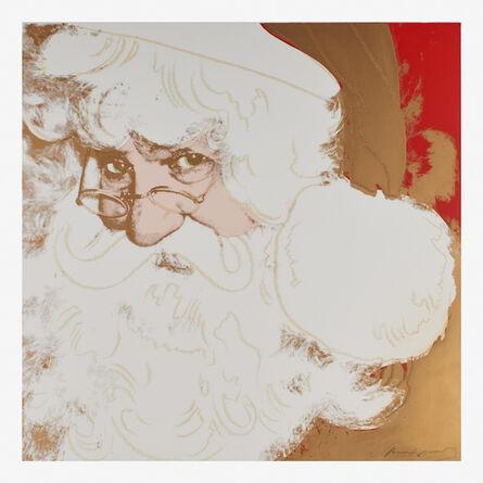 Andy Warhol, 'Santa Claus from the Myths portfolio', 1981