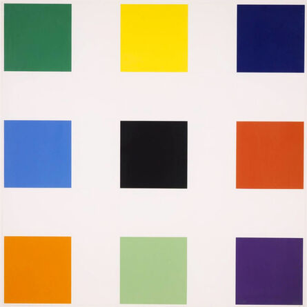 Ellsworth Kelly, 'Nine Squares', 1977