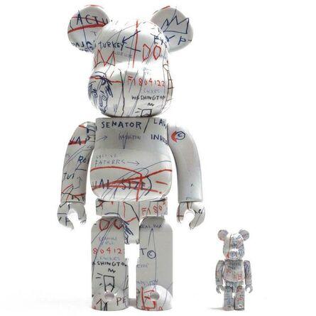 Jean-Michel Basquiat, '400% and 100% Bearbrick', ca. 2018
