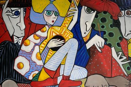 Ta Thimkaeo From Rice fields to Saatchi and Saatchi to MASA-UK Art Gallery