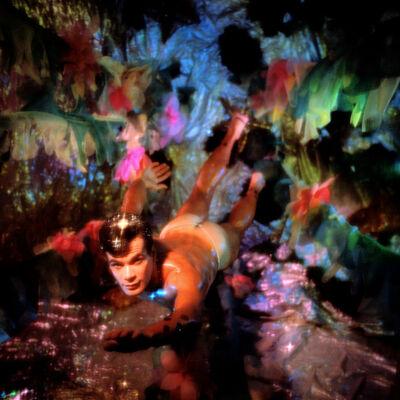 James Bidgood, 'Pink Flowers, Water Colors', 1960-1964