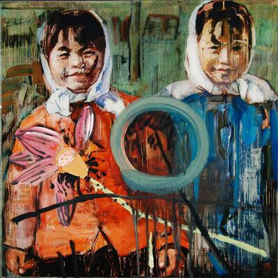 Hung Liu 刘虹, 'Lotus Flower', 2010