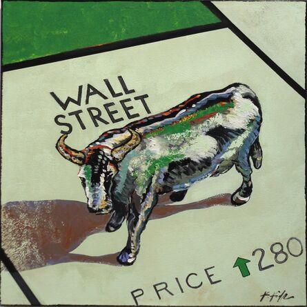 Kathleen Keifer, 'Wall Street Bull', 2016