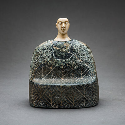 Unknown Bactrian, 'Bactria-Margiana Composite Stone Idol', 2500 BC to 1800 BC