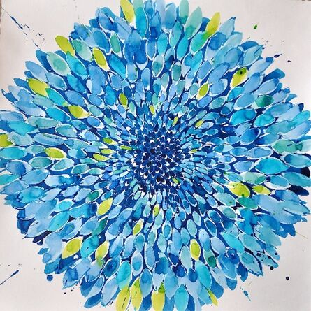 Idoline Duke, 'Dreaming Summer Blue', 2013