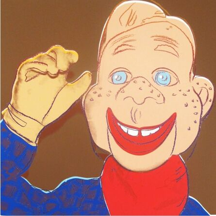 Andy Warhol, 'Howdy Doody (from Myths)', 1981