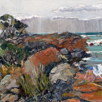 Laura Matthews, 'Rock and a Hard Place', 2021