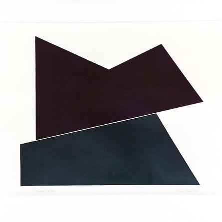 Yves Gaucher, 'Jericho - An Allusion to Barnett Newman', 1986