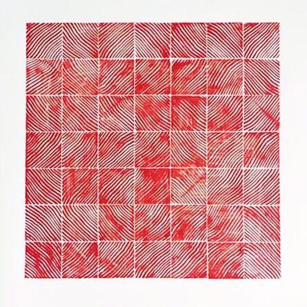Andre Mirzaian, 'Douglas Fir Grid Red', 2016