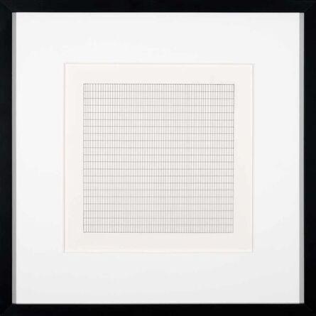 Agnes Martin, 'Untitled VI', 1991