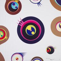 Takashi Murakami, 'Jellyfish eyes - white 1', 2006