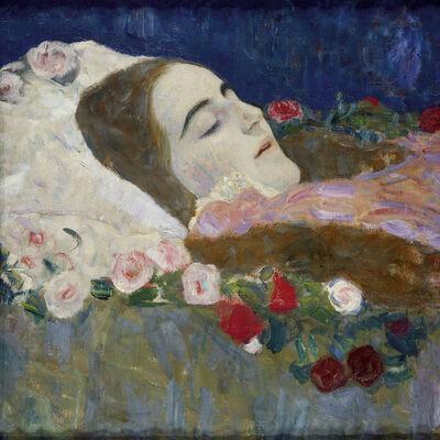 Gustav Klimt, 'Ria Munk on her Deathbed', 1912
