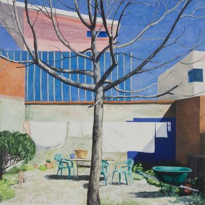 Kristin Headlam, 'The Blue Square: Big Pink', 2013