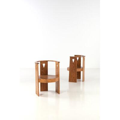 Eliel Saarinen, 'Pair of armchairs'