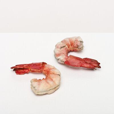 Bettina Hubby, 'shrimp and shrimp', 2015