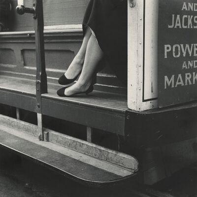 Dorothea Lange, 'Cable Car', 1956