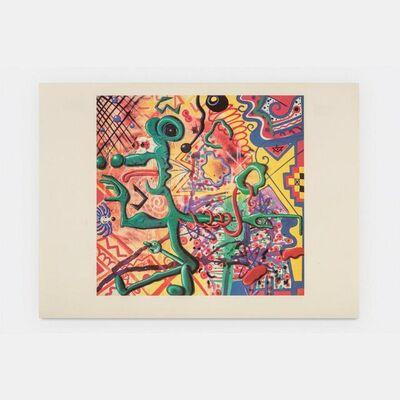 Kenny Scharf, 'Ratfinkbonerthunk (Signed)', 1990