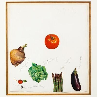 Jim Dine, 'Vegetables 3', 1971