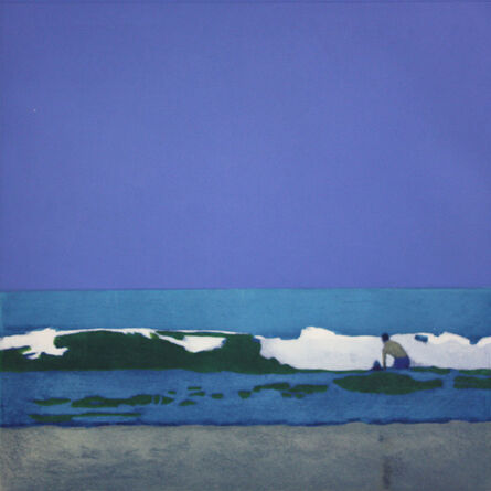Isca Greenfield-Sanders, 'MAN IN THE WAVES', 2008