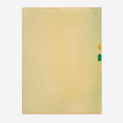 Jules Olitski, 'Graphite Suite I (Yellow/Green with Flesh)', 1970