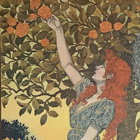 """Eugène Samuel Grasset, '""""1899 Calendrier offert par La Belle Jardinière""""', 1898"""