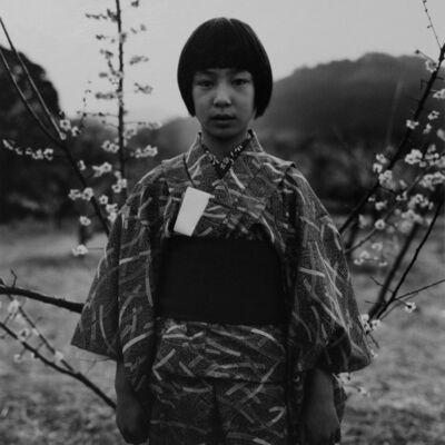 "Issei Suda, 'Umematsuri, Ogose, Saitama, March 14, 1976 from the series ""Fushi Kaden""', Printed ca. 1980"