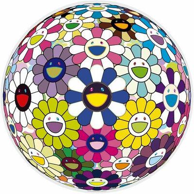 Takashi Murakami, 'Flowerball (Awakening)', 2014
