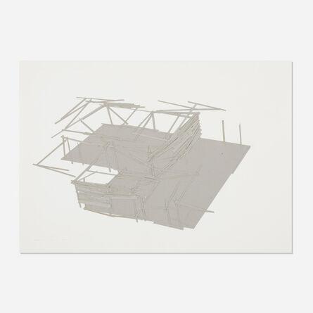 Tadashi Kawamata, 'Site Plan 14', 1991