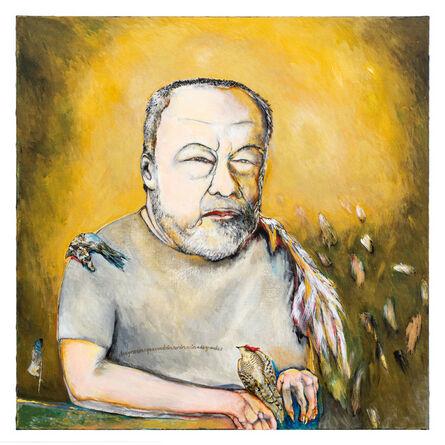 Breyten Breytenbach, 'El pintor dice...', 2021
