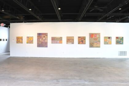 Inaugural group exhibition at James May North featuring Rae Klein, Christopher Troutman, Ariana Huggett, and Emmett Johns