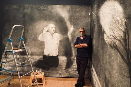 Night Forest | Chandra Bhattacharjee | Curatorial Advisor- Ranjit Hoskote