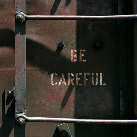 Jeff Brouws, 'Be Careful, Denver, Colorado', 1990