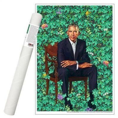 Kehinde Wiley, 'Barack Obama White House Portrait', 2018