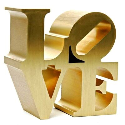 Robert Indiana, 'LOVE (Artist Authorized) Stamped with Artist's Copyright & Indianapolis Museum of Art/2011 Morgan Art Foundation/ARS, NY', 2009