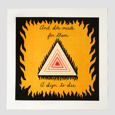 Judy Chicago, 'Signing the Dinner Party', 2008