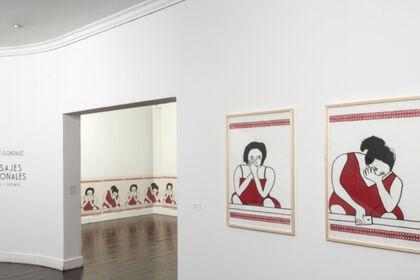 Paisajes Nacionales, Dibujos y Pinturas: Beatriz González