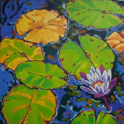 Sally Evans, 'Lilies Dance in Light', 2016