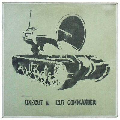Banksy, 'ONE CUT CUT COMMANDER (Record)', 1998
