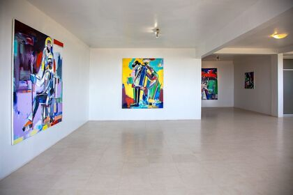 Untitled : Ngimbi Bakambana, Ousmane Niang and Moussa Traore