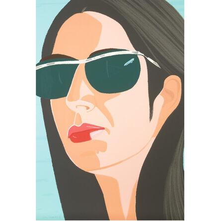 Alex Katz, 'Ada with Sunglasses', 1990